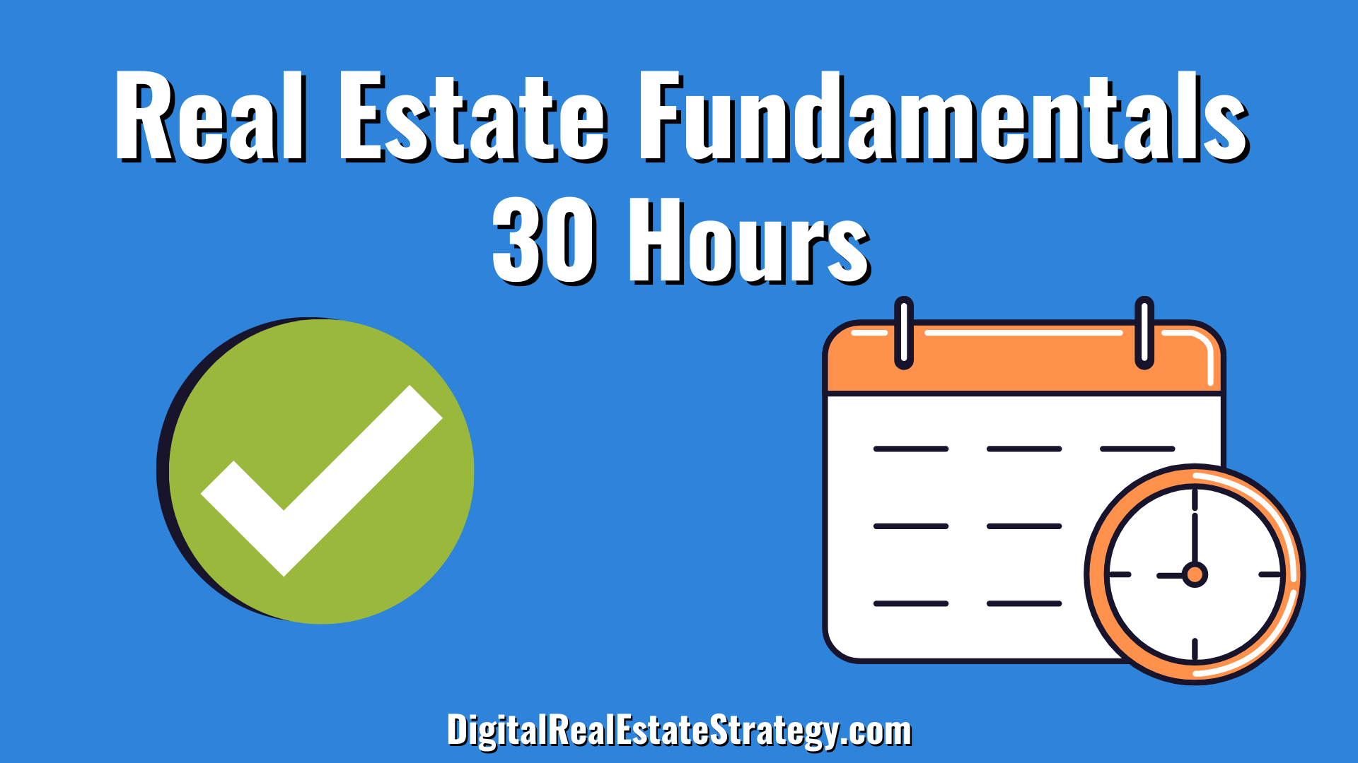 30 Hours Of Fundamentals - Real Estate License Requirements - Hours Required - Real Estate School - Jerome Lewis - Philadelphia - eXp Realty