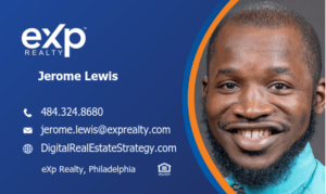 eXp Realty Review - Jerome Lewis - eXp Realty Review - Business Card - Including eXp Realty Logo