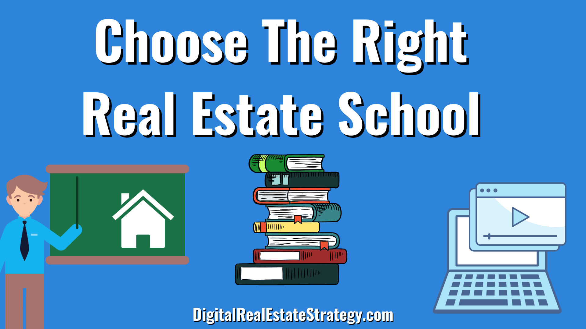Choose The Right Real Estate School - Jerome Lewis - Digital Real Estate Strategy - eXp Realty Philadelphia