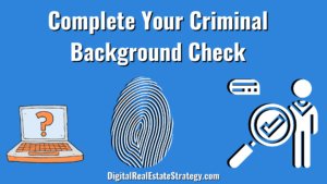 Complete Your Criminal Background Check Real Estate License Requirements - Real Estate School - Jerome Lewis - Philadelphia - eXp Realty
