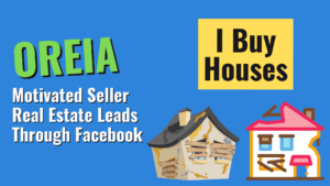 Get Motivated Seller Real Estate Leads Through Facebook - Featured Image (1)