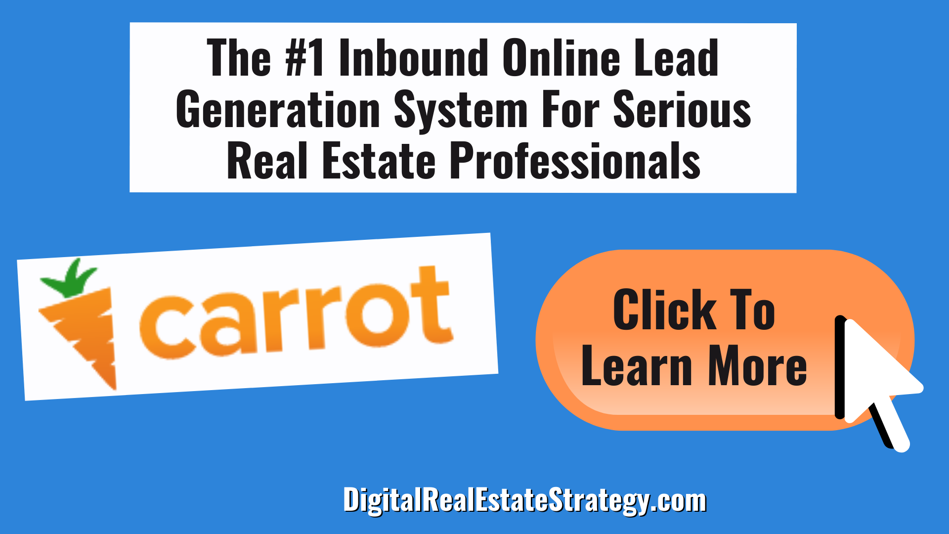 Investor Carrot - High Converting Real Estate Website - Motivated Seller Real Estate Leads Through Facebook