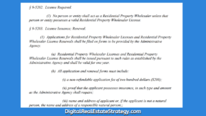 In Philadelphia Does Wholesaling Real Estate Now Require A License Philadelphia Wholesale Bill