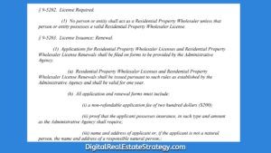 In Philadelphia Does Wholesaling Real Estate Now Require A License Philadelphia Wholesale Bill_2