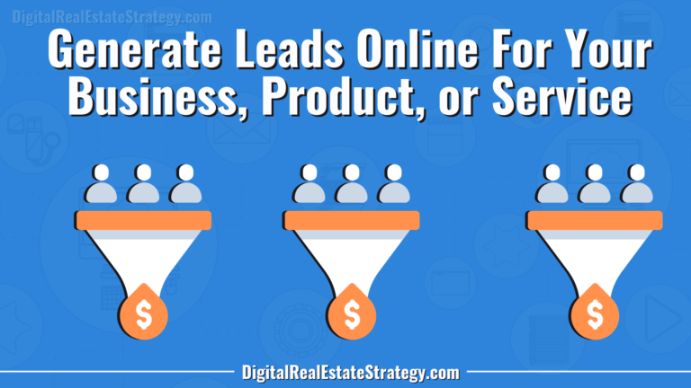Jerome Lewis Generate Leads For Your Business Online Sell Online Stuff Memberships Subscriptions Affiliate Marketing Digital Real Estate Strategy Facebook Lead Ads