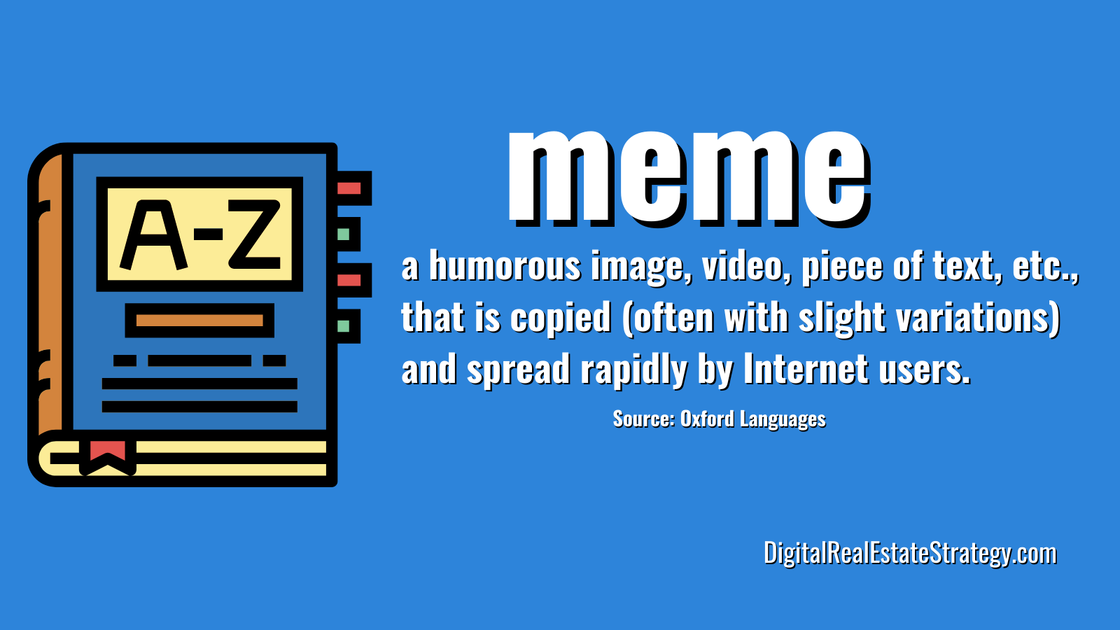Jerome Lewis - eXp Realty - Digital Real Estate Strategy - Real Estate Memes - Definition of Meme