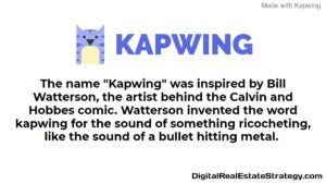 Kapwing Review Pronunciation Image