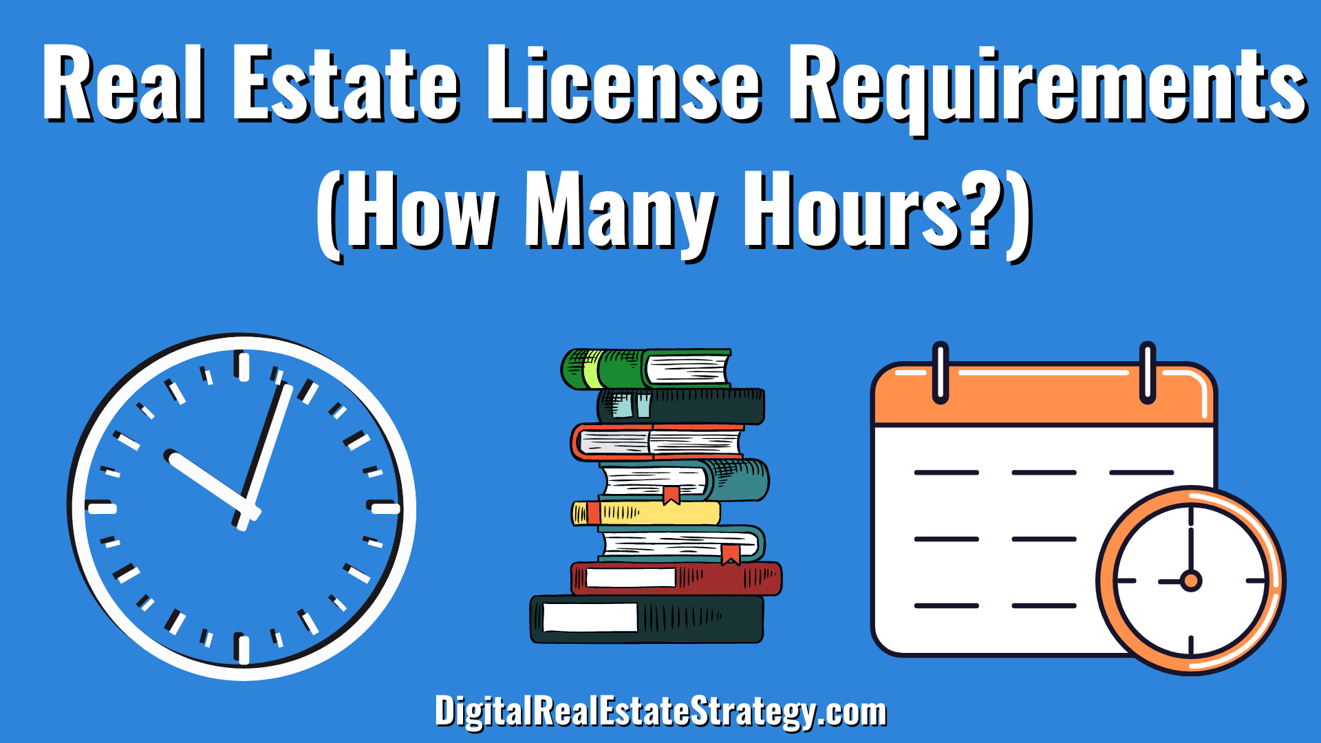 Real Estate License Requirements - Hours Required - Real Estate School - Jerome Lewis - Philadelphia - eXp Realty - Hours Required Image