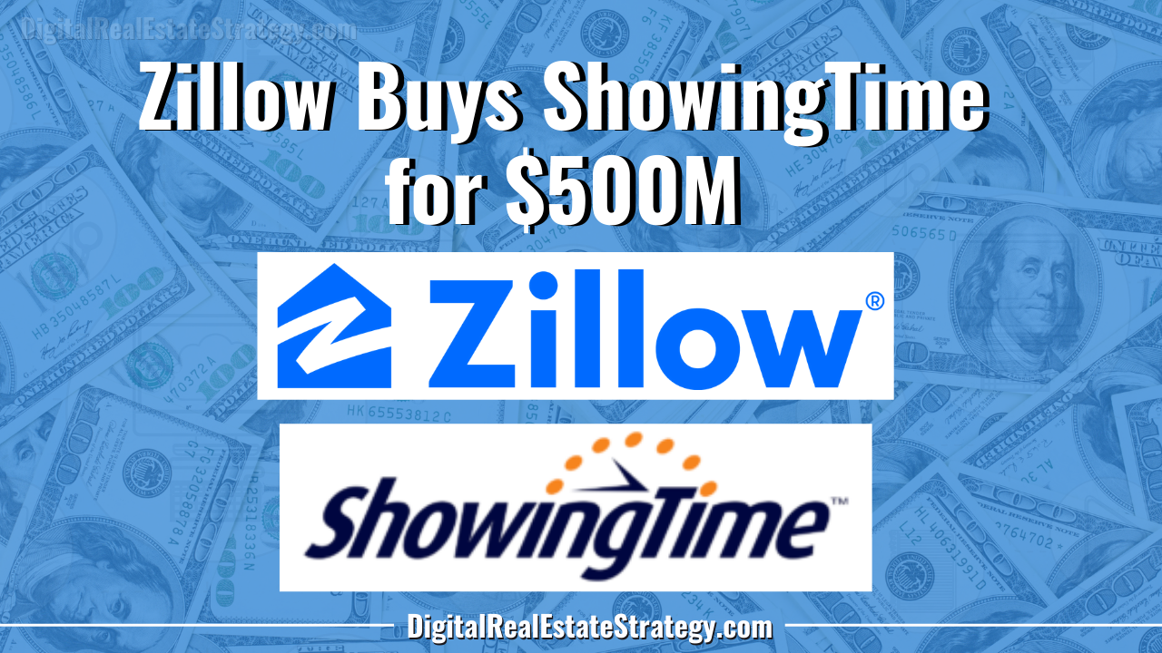 Zillow Buys ShowingTime Company for $500M Featured Image Jerome Lewis