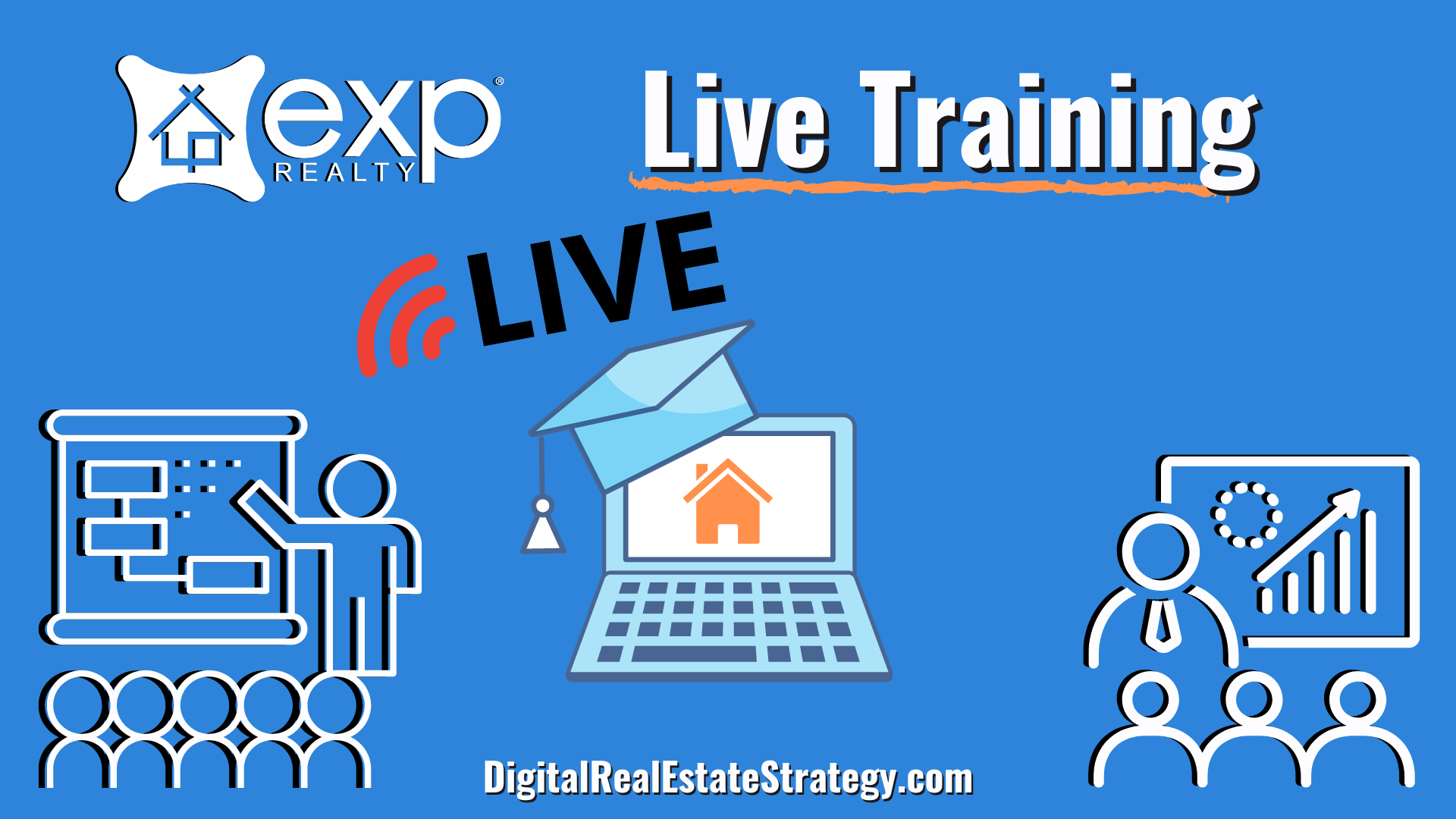 eXp Realty Live Real Estate Training Classes - eXp Realty Review - Jerome Lewis - eXp Realty Philadelphia - PA - Digital Real Estate Strategy