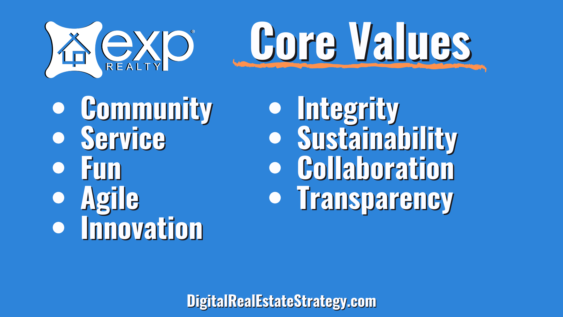 eXp Realty Review - eXp Core Values - Jerome Lewis - eXp Realty Philadelphia - Digital Real Estate Strategy